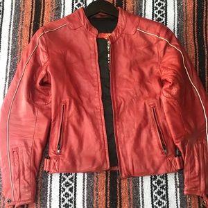 Vintage Suomy Motorcycle Jacket